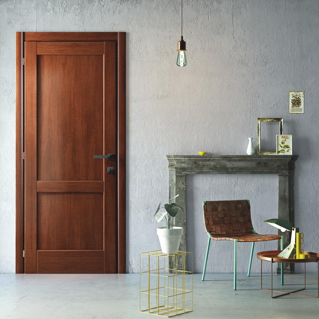 Porte interne in legno, un fascino senza tempo ...